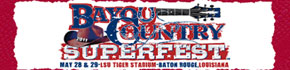 Bayou Country Superfest Louisiana