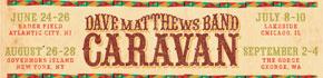 Dave Matthews Band Caravan Tour