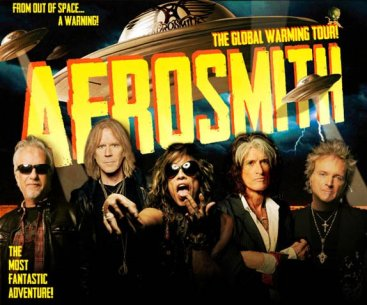 Aerosmith at Milwaukee Summerfest 2012