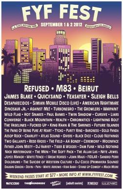 FYF Fest 2012 Poster