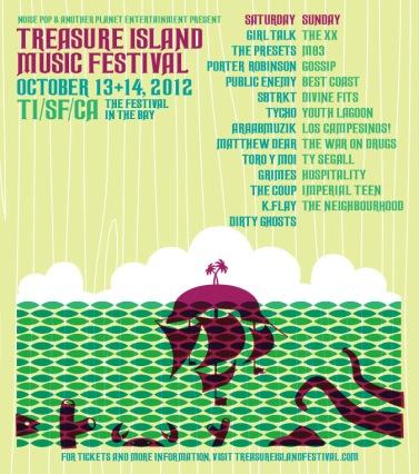 Treasure Island Festival 2012, California