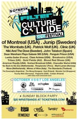 Culture Collide Festival 2012