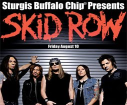 Skid Row at Buffalo Chip 2012
